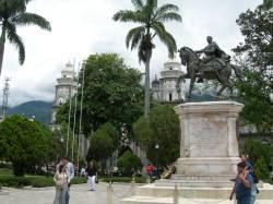 plaza bolivar de merida