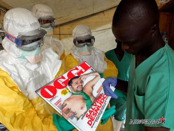 Ebola, salvini, satira