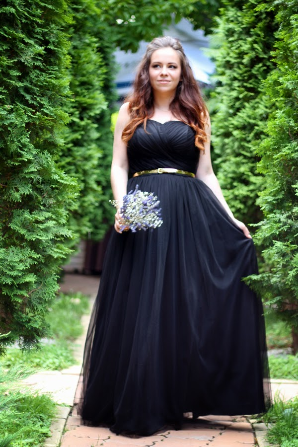 fashion blogger, iheartblack, black gown, custom made, ootn, wedding, inspiration, bride, decor, ideas, lavender, nunta, vara, idei, inspiratie, Bacau