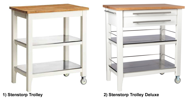 Ikea Stenstorp Kitchen Island Assembly