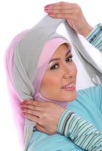 Cara Memakai Jilbab Modern Tren 2013 Terbaru