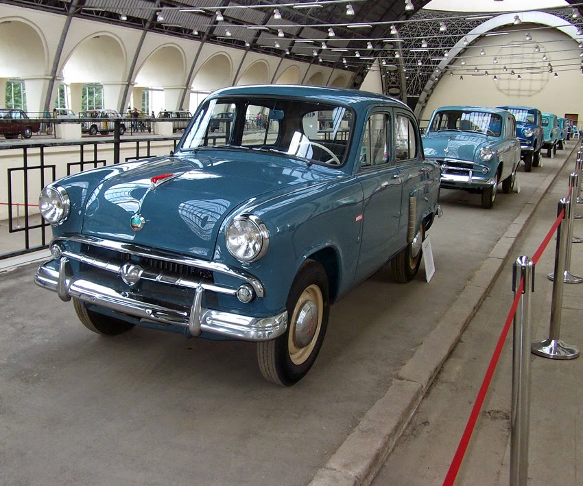 Spotted Cars In Moscow Museum Moskvitch Cars