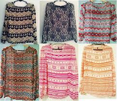 Segmen Menang Blouse Tribal #2