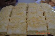 "Snow Cheese  cake  RM60 10"" RM30  half resepi."