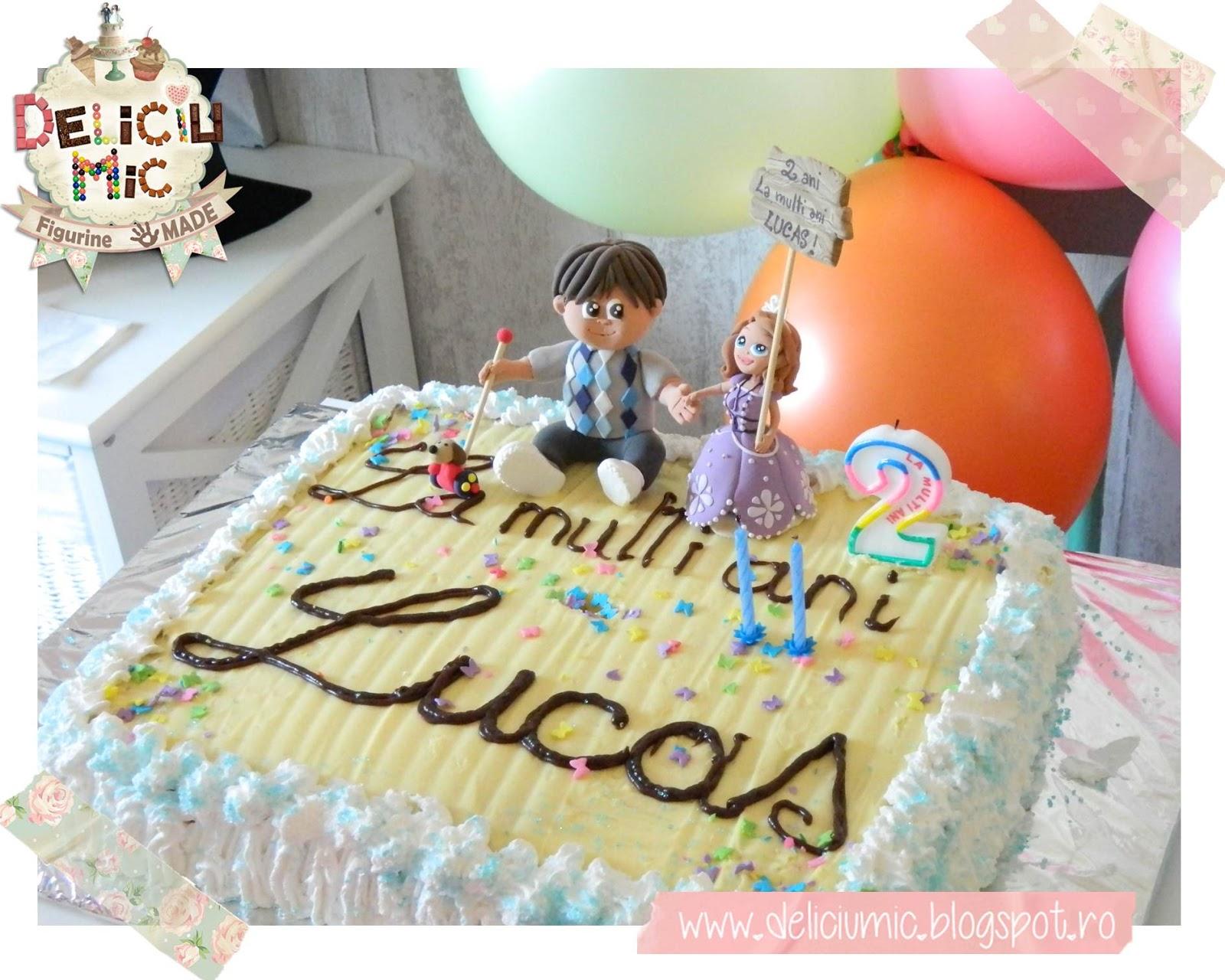 Figurine de tort pentru botez