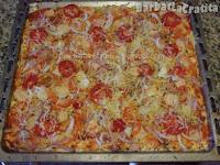 Pizza de casa preparare reteta