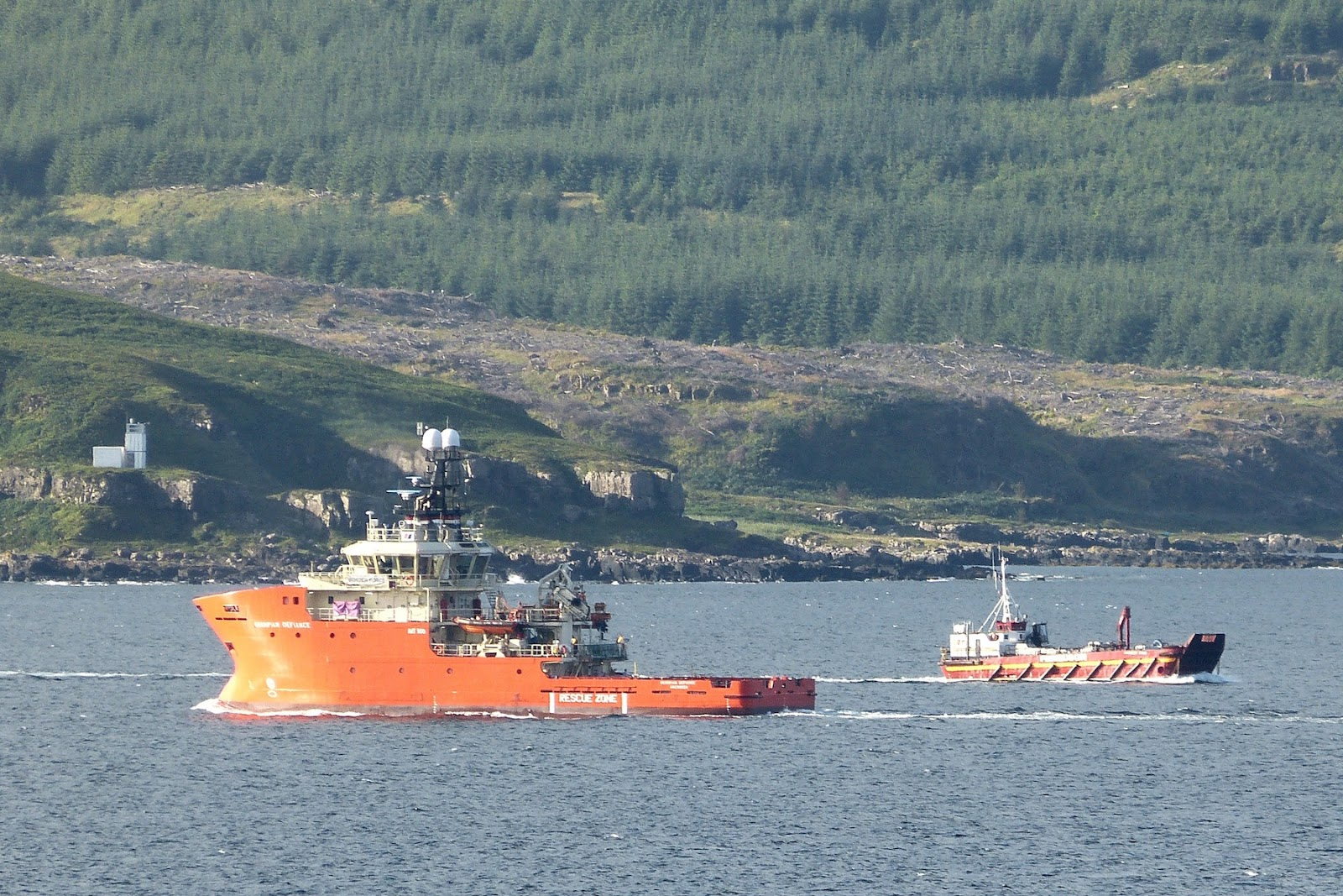 A Kilchoan Diary Ships In The Sound