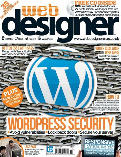 Web Designer Magazine UK No.197 - 2012