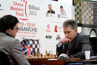 Maxime Vachier-Lagrave (2742) 0-1 Michael Adams (2753) © Chessbase