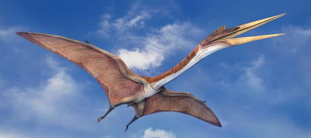 Quetzalcoatlus, dinosaurio volador