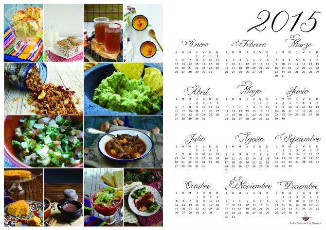 calendario entrefogones 2015