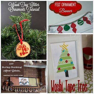 Holiday Crafts at SumosSweetStuff.com #christmas