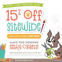 Simon Says Stamp Weekend Sale