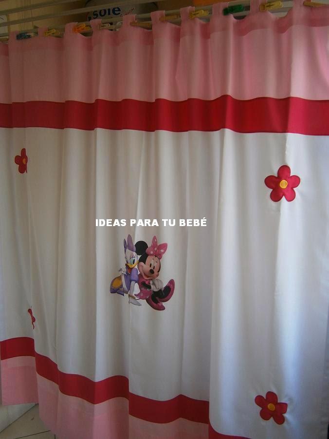Ideas para tu bebe cortinas baby disney - Cortinas infantiles disney ...