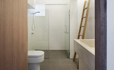 Apartamento con decoración minimalista