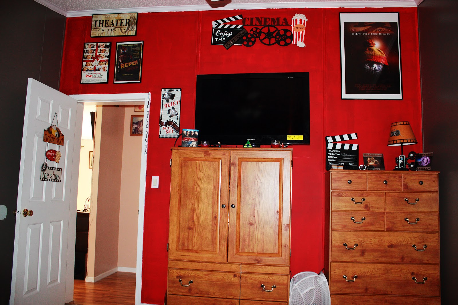Amazing Movie Themed Bedroom