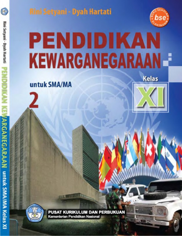 Buku pendidikan kewarganegaraan (pkn) kelas xi sma bse