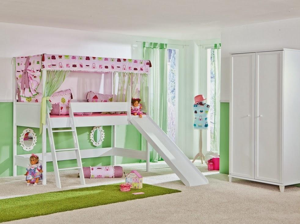Fotos de camas originales para ni as dormitorios colores - Habitacion nina 2 anos ...