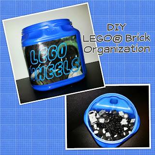 DIY LEGO Organization, LEGO Organization Day 3