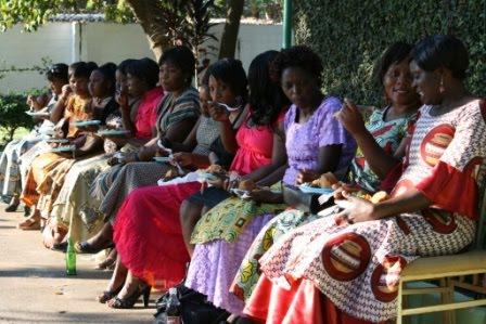 Zambian kitchen party bridal shower entertainment for Kitchen designs zambia