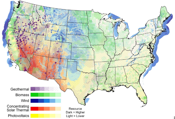 Greencyclopedia™: Global Investment in Renewable Energy: USA