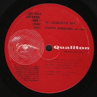 El Cuarteto del Chivo Borraro: En vivo (1973)