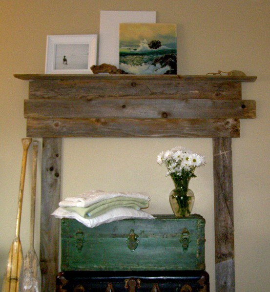 happiness is the journey diy faux fireplaces. Black Bedroom Furniture Sets. Home Design Ideas