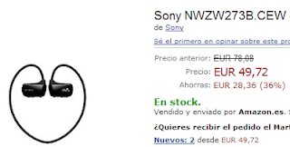 Sony NWZ W276