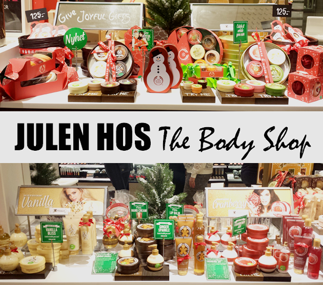 The Body Shop presenterar tre nya doftserier, Vanilla Bliss, Cranberry Joy och Ginger Sparkle