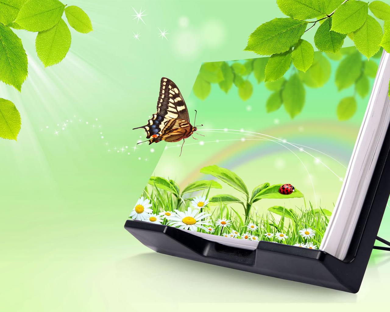 Lamenik 3d Nature Backgrounds