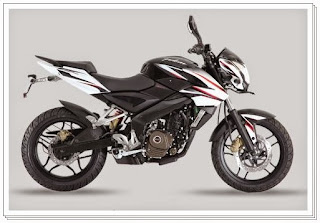 Bajaj Pulsar 200ns Black and White Color