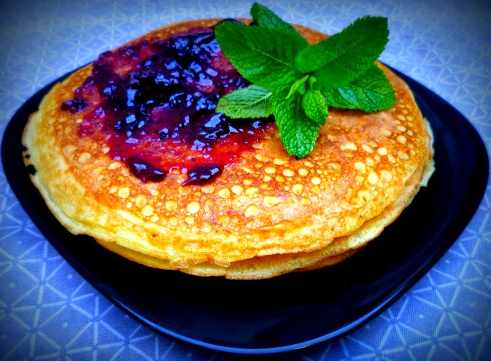 Pancakes de arroz: final