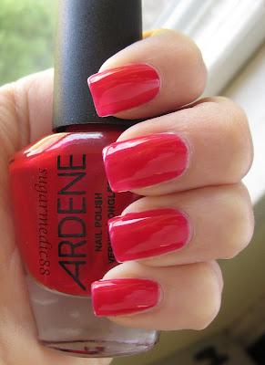 Ardene Red Sapphire Swatch