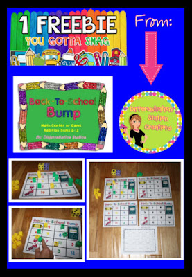 https://www.teacherspayteachers.com/Product/FREE-Back-to-School-Bump-Math-Center-Game-and-Printable-795529