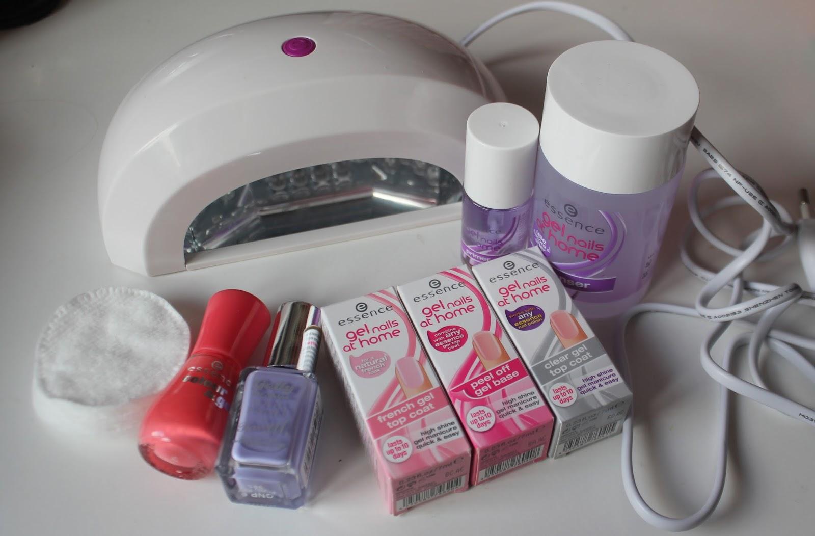 je allemaal nodig voor de essence gel nails at home?( bron essence