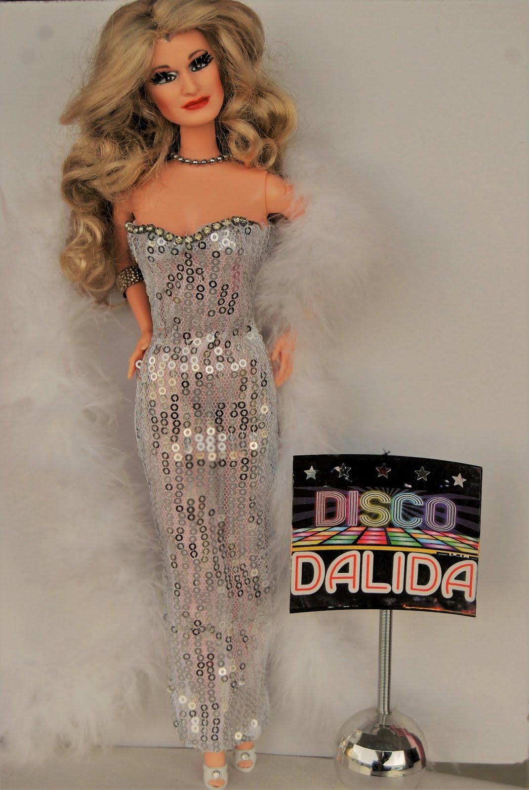 Dalida la poupée Disco : la vidéo sur Youtube
