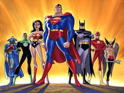 Série Animada da Liga da Justiça de tudodepopart.com