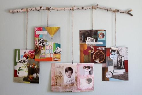 Idee fai da te facili per creare espositori per fotografie for Idee per appendere foto