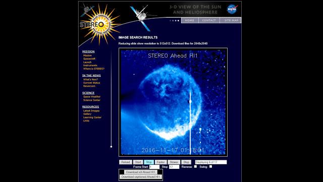 """Mystérieuse """"objet sphérique'' géant devient visible près du Soleil"""