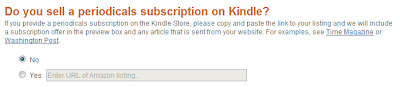 Send to Kindle Button
