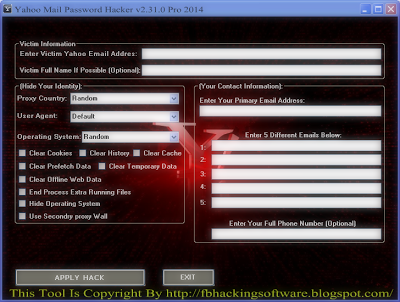yahoo mail hacker software free download