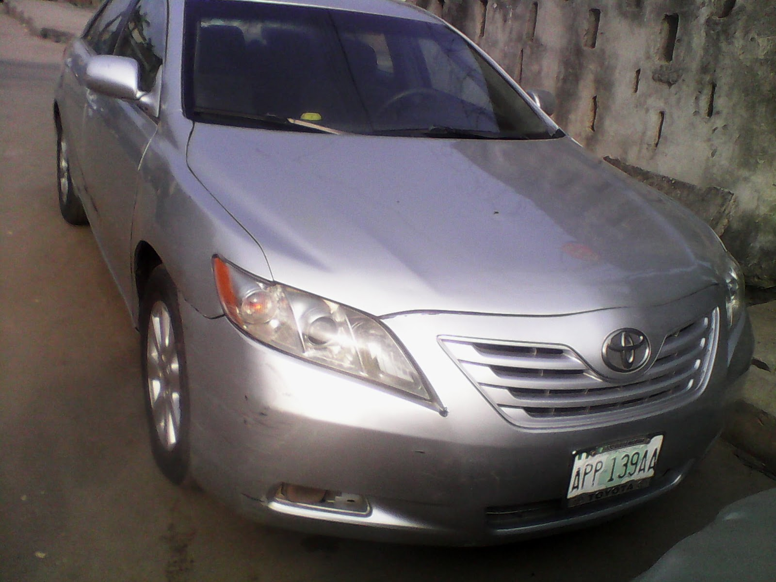 very neat 2008model toyota camry for sale in lagos for just nige. Black Bedroom Furniture Sets. Home Design Ideas