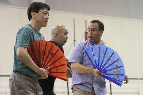 From Left To Right Julius Ahn Pang Joseph Hu Pong And Patrick Carfizzi Ping Rehe For Turandot Photo By Alan Alabastro