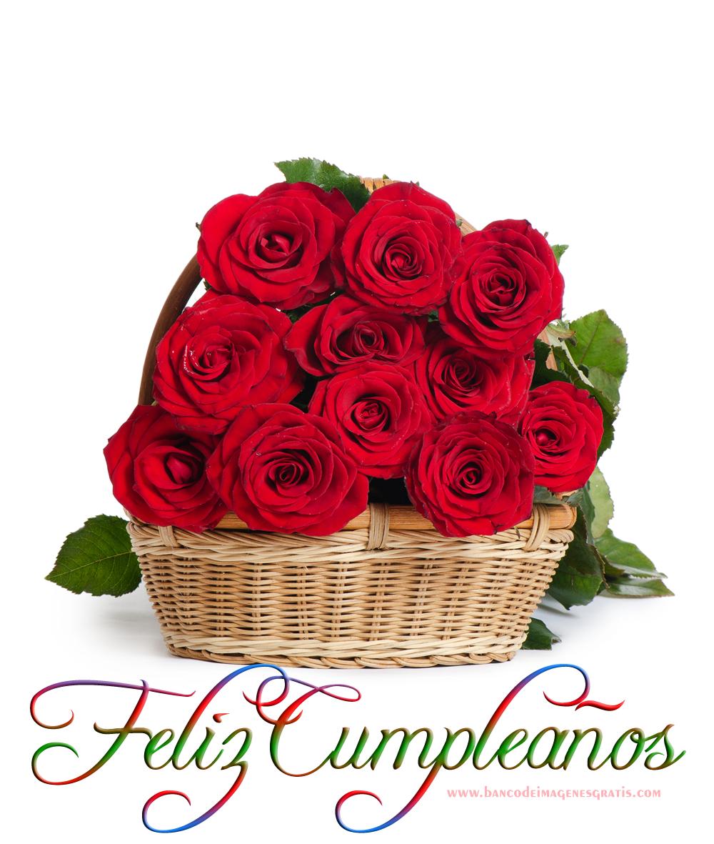 Resultado de imagen para flores feliz cumpleaños
