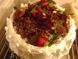 Torta de Morango.