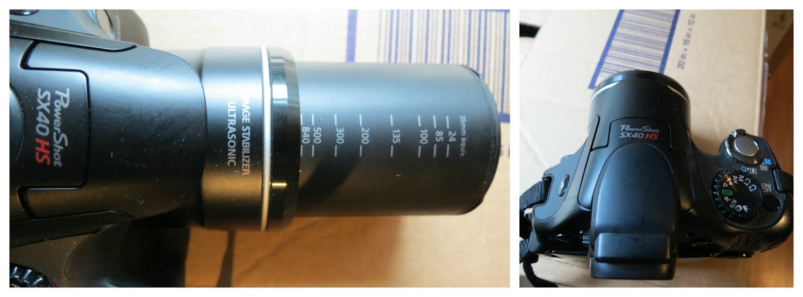 My Camera: Canon Powershot SX40