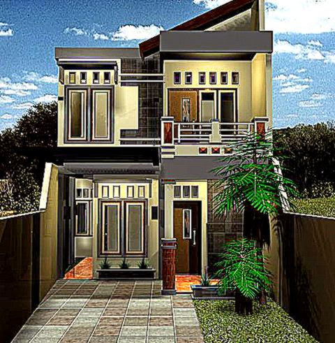 contoh rumah minimalis 2 lantai design rumah minimalis