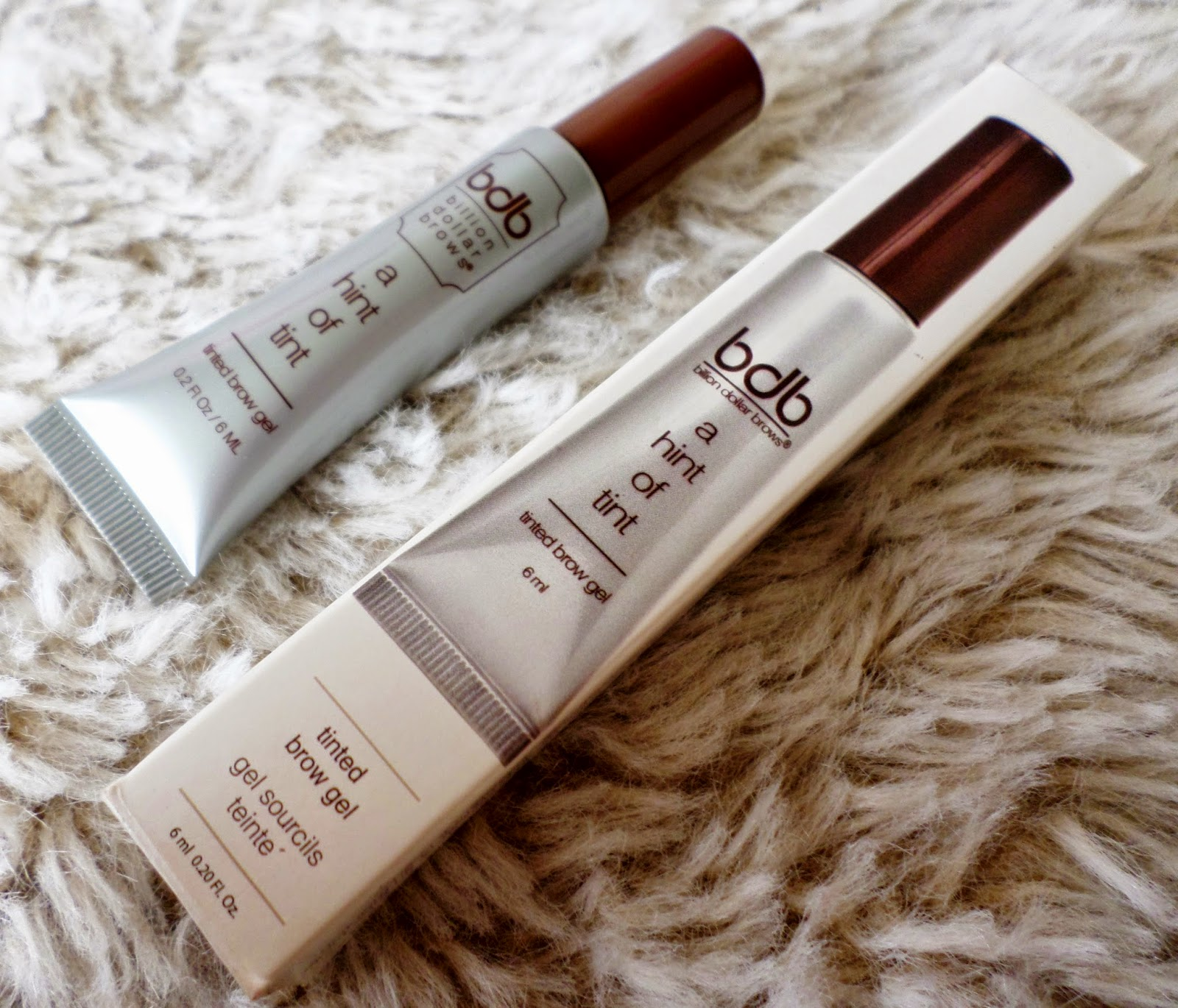 Billion Dollar Brows Hint of Tint Tinted Brow Gel in Blonde Review