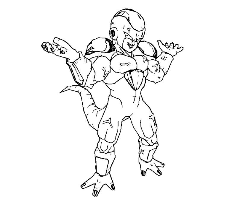 dbz coloring pages frieza - photo#24