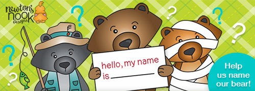 Name our Bear and Win - Newton's Nook Designs